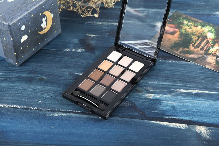 Profesional Makeup Ultimate Shadows Palette Warm Neutrals Nude Matte Metallic Eyeshadows Baked Eyeshadow Pallete Makeup