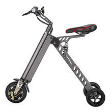 Мини папку Электрические велосипеды открытый Smart два Колёса Электрический Скутер Складной одноколесном велосипеде толкать велосипед цикл