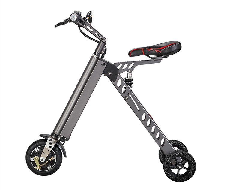 Mini Folder Electric Bicycle Outdoor Smart Two Wheels Electric Scooter Folding Unicycle Push Bike Cycle