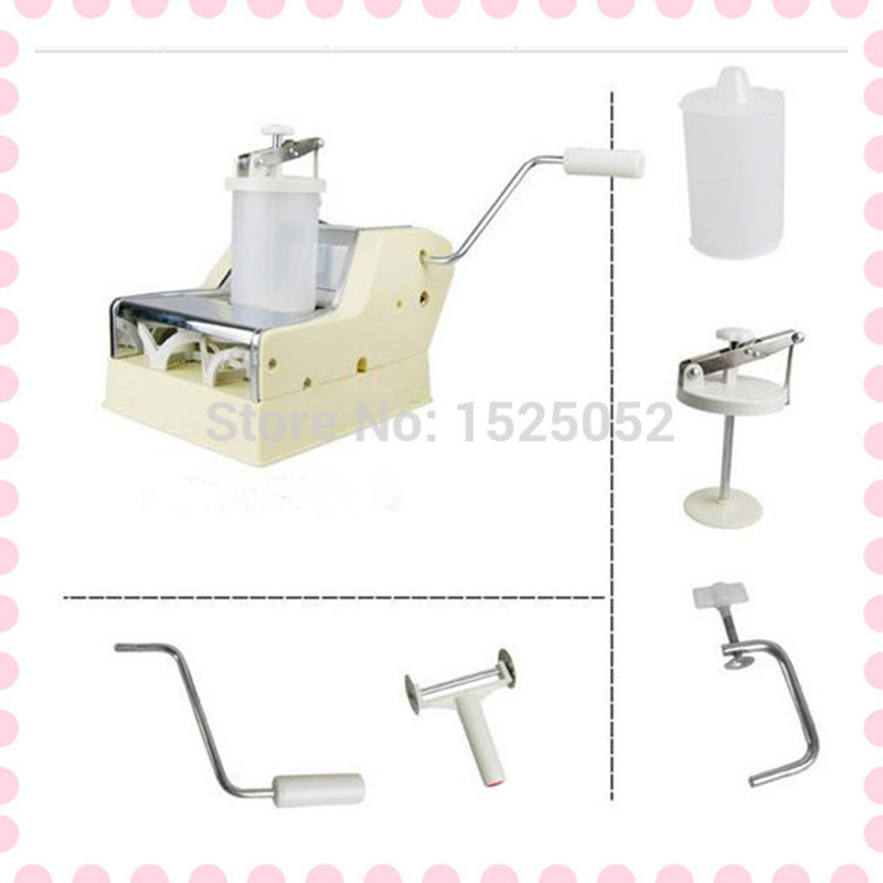 Free shipping hand-actuated dumpling machine China Jiaozi Maker household manual dumpling maker machine hand cranked jiaozi pelmeni machine