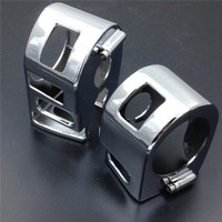 Aftermarket Free Shipping Motorcycle Parts Chromed Switch Housing Cover For Yamaha 1999 2012 XVS V Star