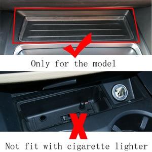 Image 5 - עבור BMW 3 סדרת F30 F31 F82 F32 F34 F36 רכב צ י אלחוטי מטען מהיר טעינת מודול כוס בעל לוח אביזרי עבור iPhone