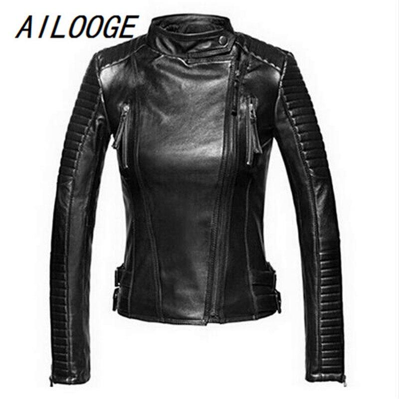 """17/"""" 2 mm 1 Pcs Noir authenticleather Collier Cordons Acier Inoxydable Boucle"""