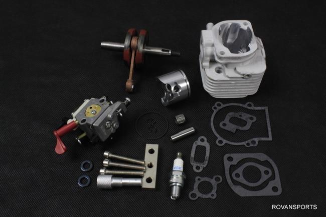 30.5CC cylinder kits with piston, 4bolt, engine parts set