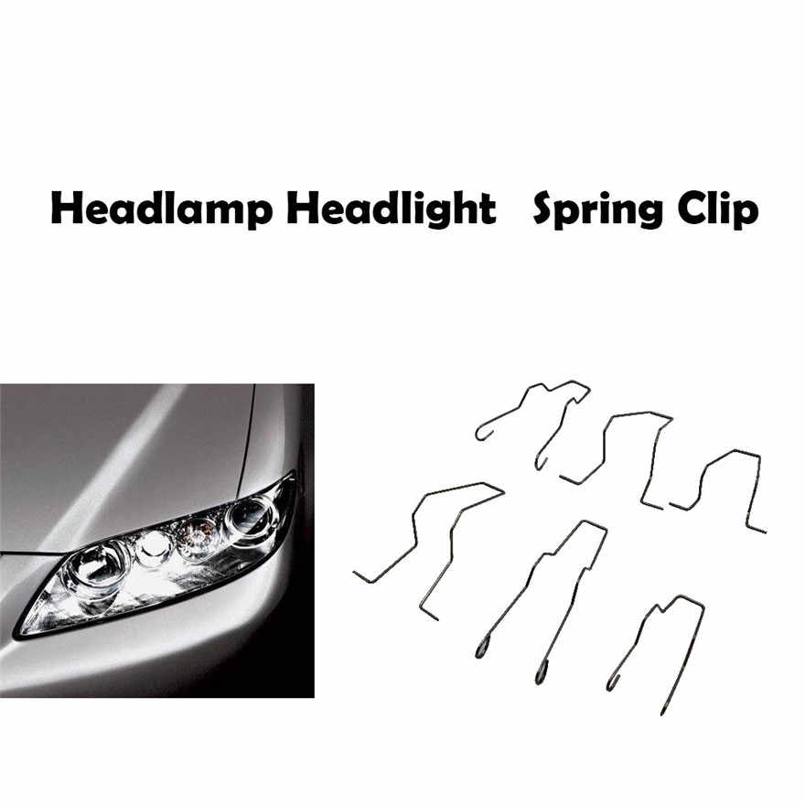 New Headlamp Headlight Dip Dipped Beam Head Lamp bulb Retaining Spring Clip H1 H4 H7 Accessories Practical Durable High Quality