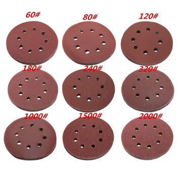 10Pcs 120# Grit Small Sandpaper Stick With Tapered Scratches  Metal polishing