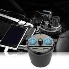 Автомобиль Bluetooth mp3 плеер fm-передатчик Беспроводной для Bluetooth адаптер для автомобильного радио Hands-Free USB Зарядное устройство m27