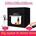 CY 100 см набор мягких светодиодных тентов для фотостудии + 3 фона + диммер  комплект тентов для детской одежды