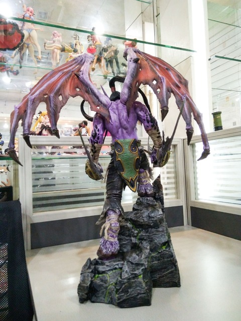 [New] Limited Large size 60cm WOW Illidan gk resin statue figure collection model Original box best gift 3