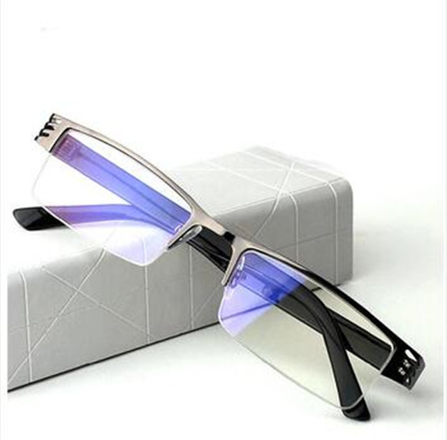 Titanium alloy Non spherical light eyeglasses frame men Women fashion computer reading glasses