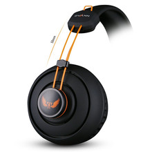 Computer Earphones Headband Headphones Ovann  X7 Stereo Surround Game Headphone Gaming Headset 3.5mm with Mic Volume Control