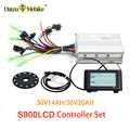 36 V 250 W 350 W 500 W Controller S900LCD display Meter PAS Set E bike Conversion kit Dual Modus hall-Sensor und Halle Sensorlose