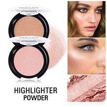 Sace Lady Face Iluminator макияж профессиональный блеск палитра комплект для макияжа с эффектом свечения осветляющая пудра хайлайтер косметическая пудра