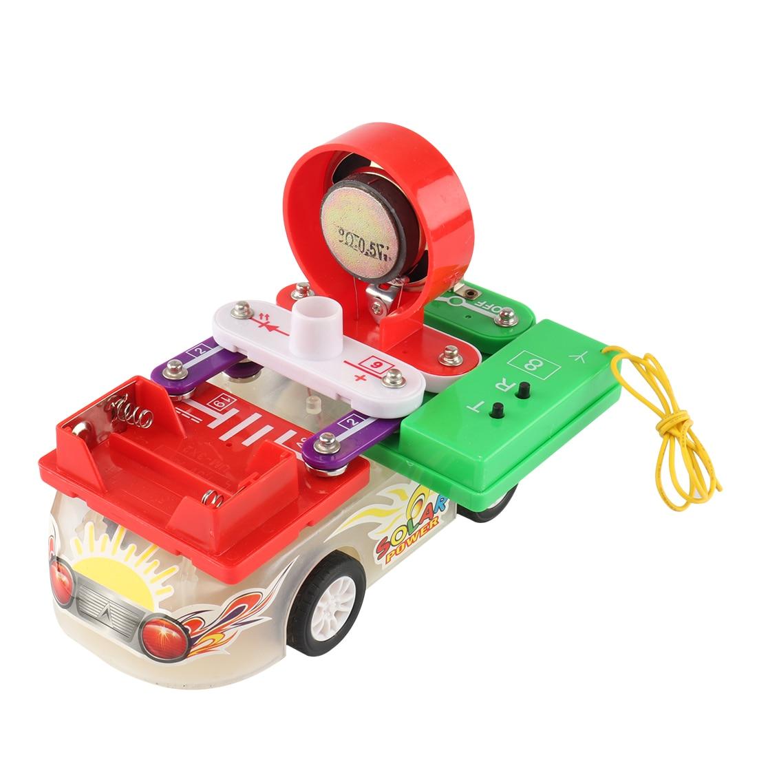 Qualité voiture énergie solaire jouet voiture Racer Gadget éducatif jouets électrique bloc de construction apprentissage jouets éducatifs pour les enfants
