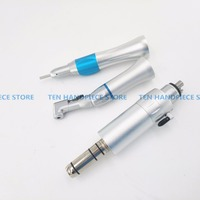 2018 good quality Dental Electric Motor Straight Contra Angle Slow Speed Handpiece For Dental Lab Micromotor Polish Tool