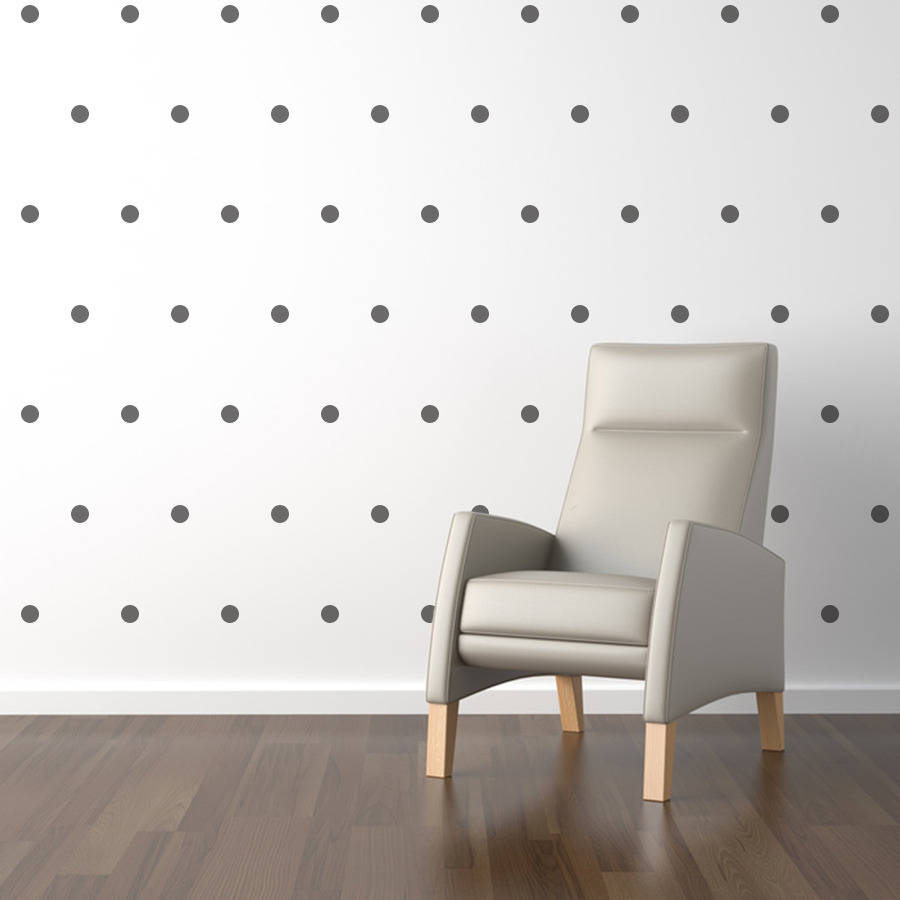 Mini Polka Dots Wall Sticker Set Living