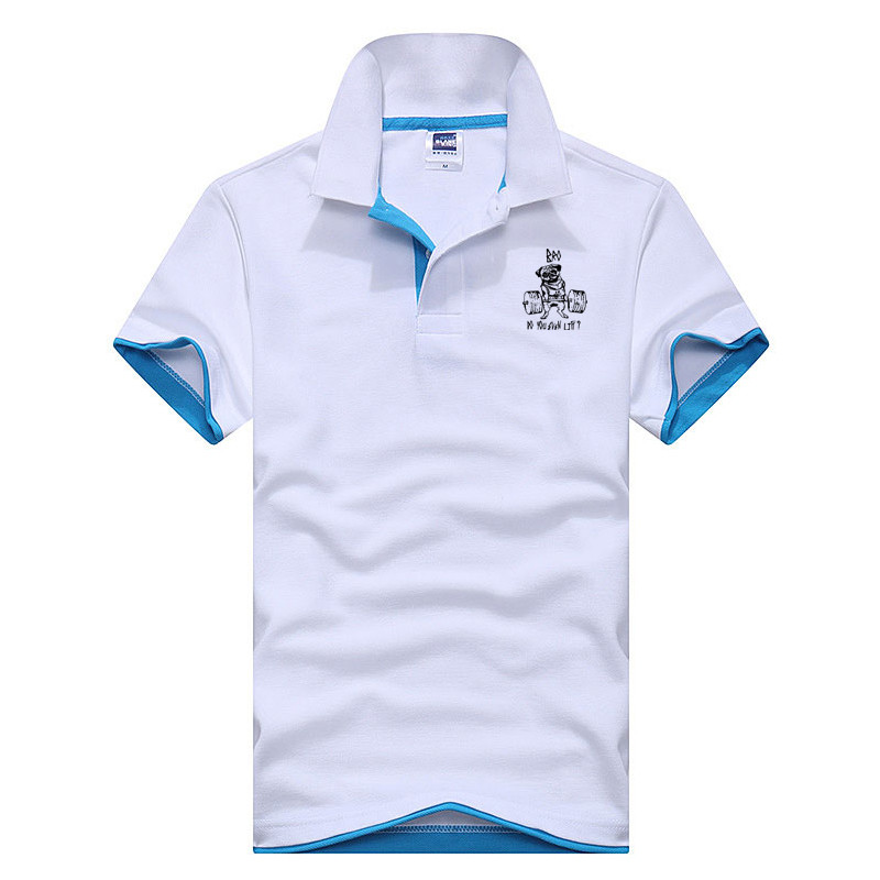 new cotton   polo   dragon fashion   polo   shirts with short sleeves coat in the summer of 2018   polos   brand clothing wear comfortable