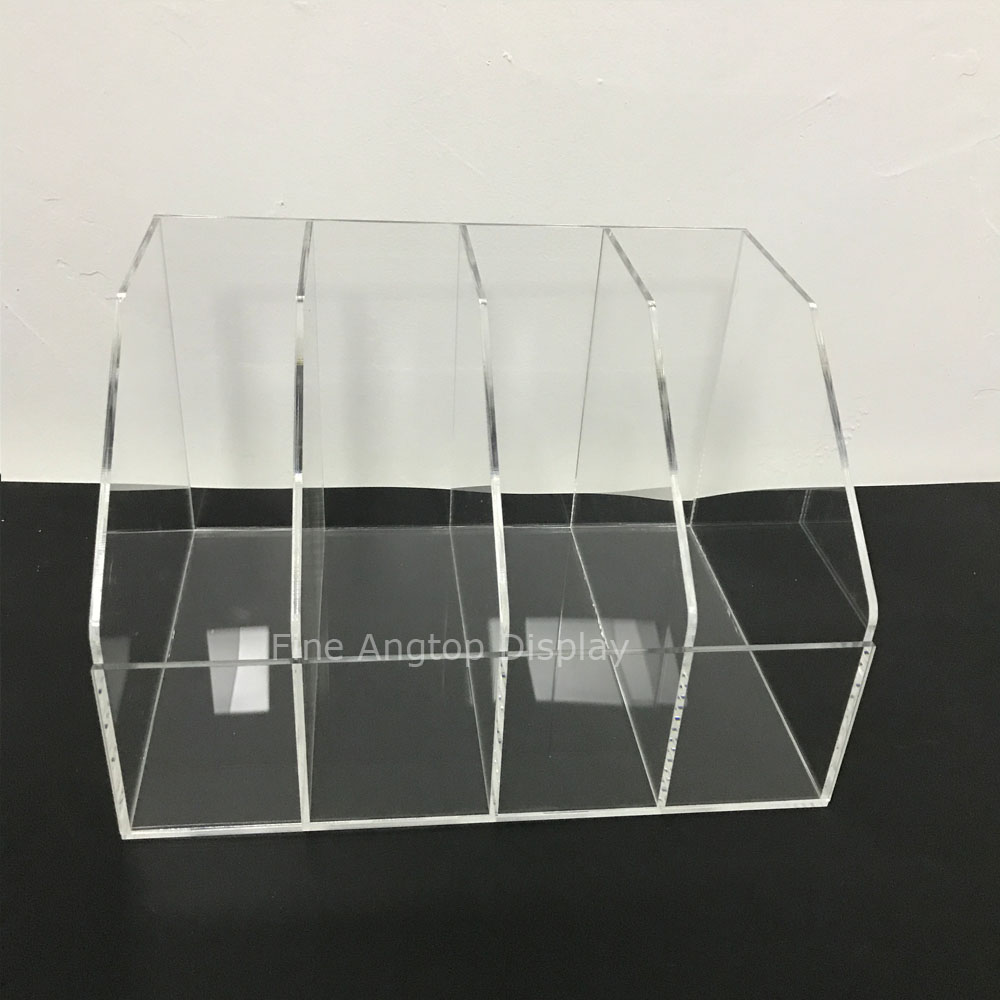 Clear Jewelry Display Stand Mobile Wallet Bracelets Display Shelf Plexiglass Rack