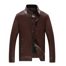 9XL 8XL 7XL 6XL New Arrivals Winter Autumn Brand PU Leather Jacket Men Motorcycle Overcoat Jaqueta High Quality free delivery