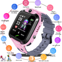 LIGE Смарт часы Детские Многофункциональные цифровые наручные часы для детской Детские часы с пультом дистанционного вызова SOS камера детски