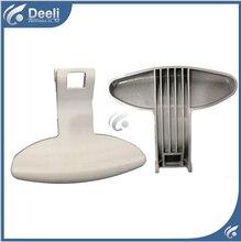 2pcs white color new for Whirlpool washing machine parts door handle door handles door switch good working