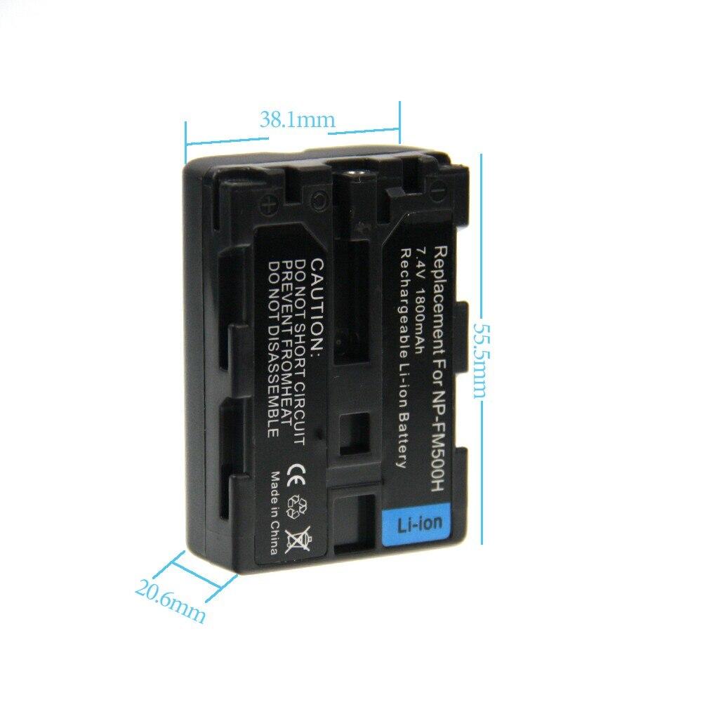 Bateria DA Câmera np fm500h bateria recarregável bateria Utilização : Câmera