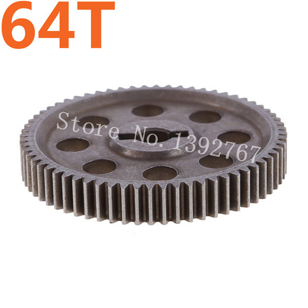 HSP 11184 Diff.Main Gear 64T Metal Spare Parts For 1/10 RC Drift Car On / Off Road Truck Buggy Hobby Flying Fish Himoto