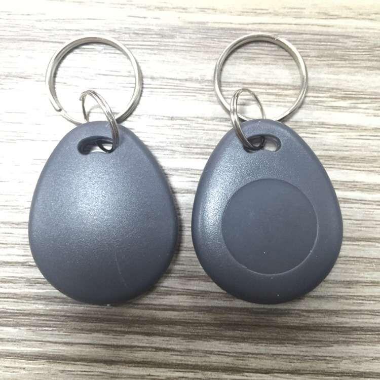 10PCS 125KHz T5577 Key Fob 125Khz T5557 Key Rewritable RFID Proximity ID Token