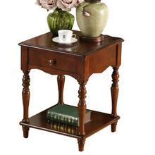 Европейский квадратный диван маленький квадратный столик Американский журнальный столик телефонный Столик Прикроватный шкаф креативный прикроватный столик угловой