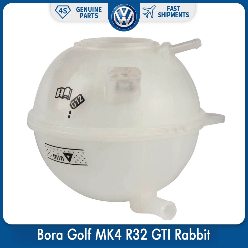 OEM Coolant Reservoir Expansion Tank For VW Volkswagen Golf Variant Bora Golf MK4 R32 GTI Rabbit 1J0 121 403 E oem glove box storage compartment light lamp for vw golf jetta mk4 bora 1j0 947 301 1j0947301