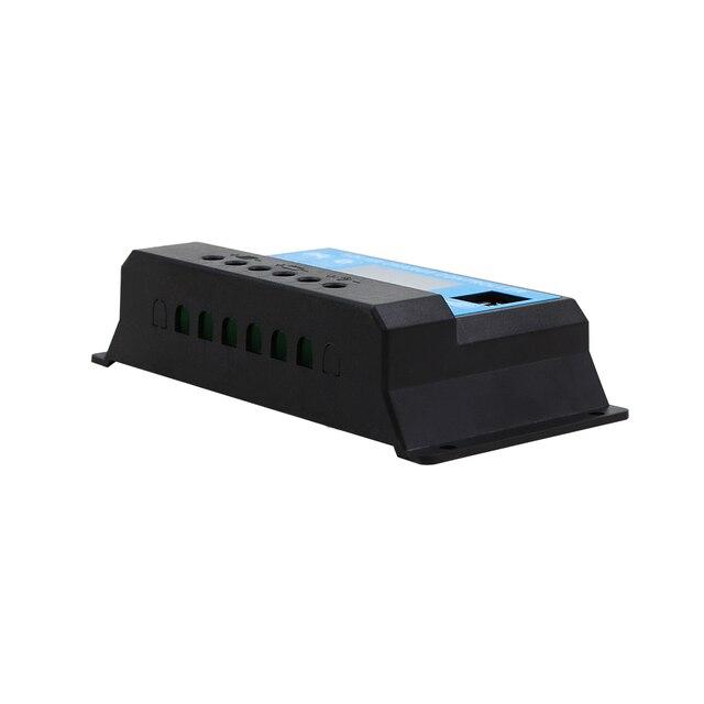 Panneau solaire à affichage LCD 10A 12V/24V | charge, batterie au lithium AGM GEL, USB, bon marché, contrôleur de charge solaire