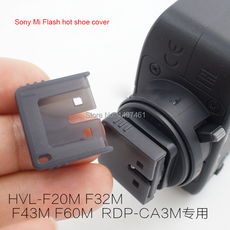 Hot shoe hotshoe protect cover For Sony HVL F20M HVL F32M HVL F43M HVL F45RM HVL 60M F20 F32 F43 F45 F60 flash RDP CA3M speaker|hotshoe|hotshoe cover|hotshoe flash - title=