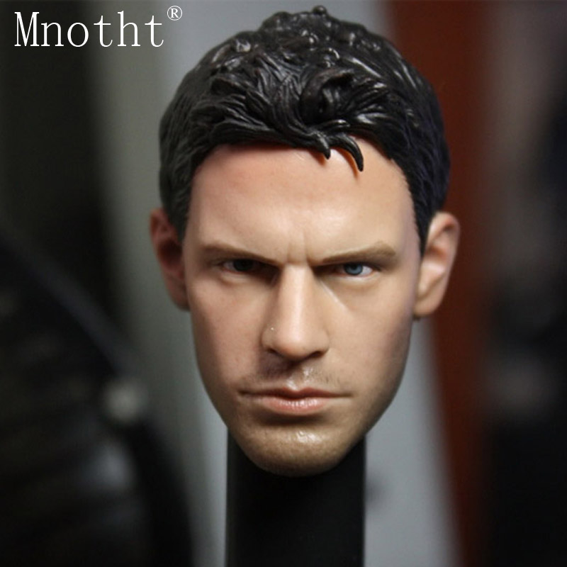 Mnotht 1/6 Action Figure head sculpture toy Resident Evil Piers Chris Redfield Head model A-04 doll for 12'' soldier collection