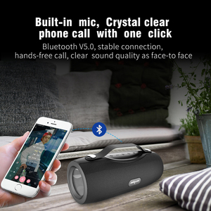 Image 5 - ZEALOT S29 Không Dây Bluetooth Fm Radio Di Động Loa + Đèn Pin + Đèn Công Suất Ngân Hàng + Hỗ Trợ Thẻ TF, đèn LED Cổng USB
