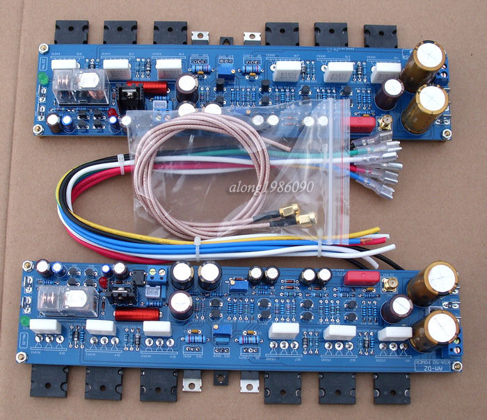One Pair KRELL KSA50 Class A Power Amplifier Board 50W+50W With 2SA1943 / 2SA5200 krell illusion