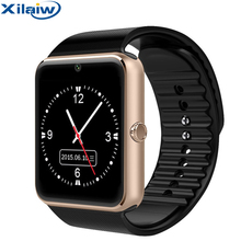 Xilaiw Bluetooth Smart Watch For iphone IOS Android Phone Smartwatch Support Sync smart clock SIM TF Card PK DZ09 A1 GT08 X6 стоимость