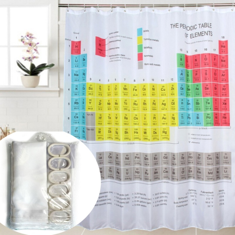 3D Digital Printing Waterproof Shower Curtain Thick Polyester Bathroom Opaque Curtain Wi ...