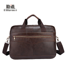 Cowhide leather Men's commercial men Bags Business Briefcase for man Famous Brand Designer Style Crossbody Office Bags good