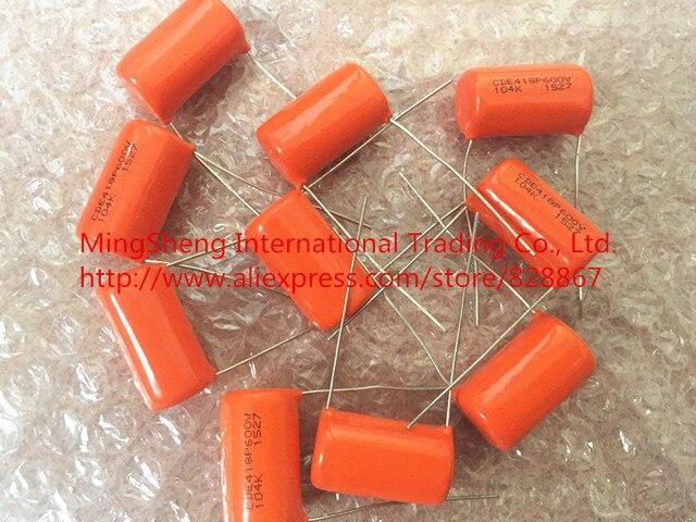 Original new 100% United States SBE 418P 600v0.1uf 104k ORANGE DROP film capacitor