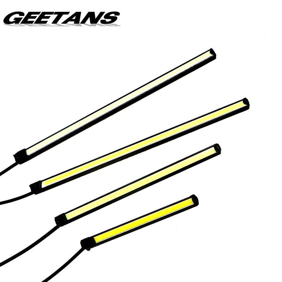 GEETANS Car Led Fog Light LED Daytime Running Light LED DRL lighting font b accessories b