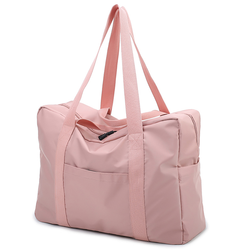 Normcore Design minimaliste imperméable femmes sac de voyage de haute qualité en Nylon souple sac de voyage grande capacité multi-poches bagages