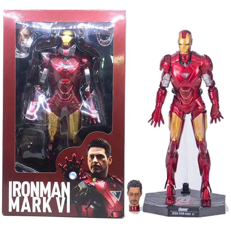 12 pouces fer homme Avengers Infinity War Ironman Mark 171 Anime pour enfants figurine jouet poupée