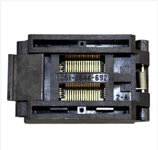 ФОТО QFP64 IC Test bench  Burning seat  IC51-0644-692 1pcs/lot   NEW original - FREESHIPPING