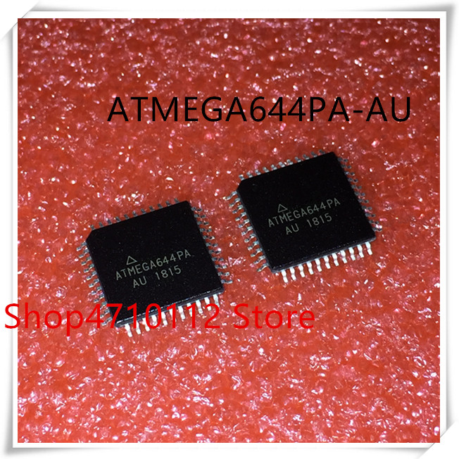 NEW 10PCS/LOT ATMEGA644PA-AU ATMEGA644PA AU ATMEGA644 TQFP-44 IC