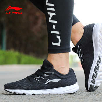 Li-Ning Men EZ RUN Running Shoes Breathable Wearable LiNing Light Weight Sport Shoes Comfort Sneakers ARBN021 XYP655