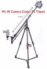 IFOOTAGE Skilled Carbon Fiber mini Digicam Jib Crane M1 III + IFOOTAGE Wild Bull T5 Aluminum Tripod Legs Stand