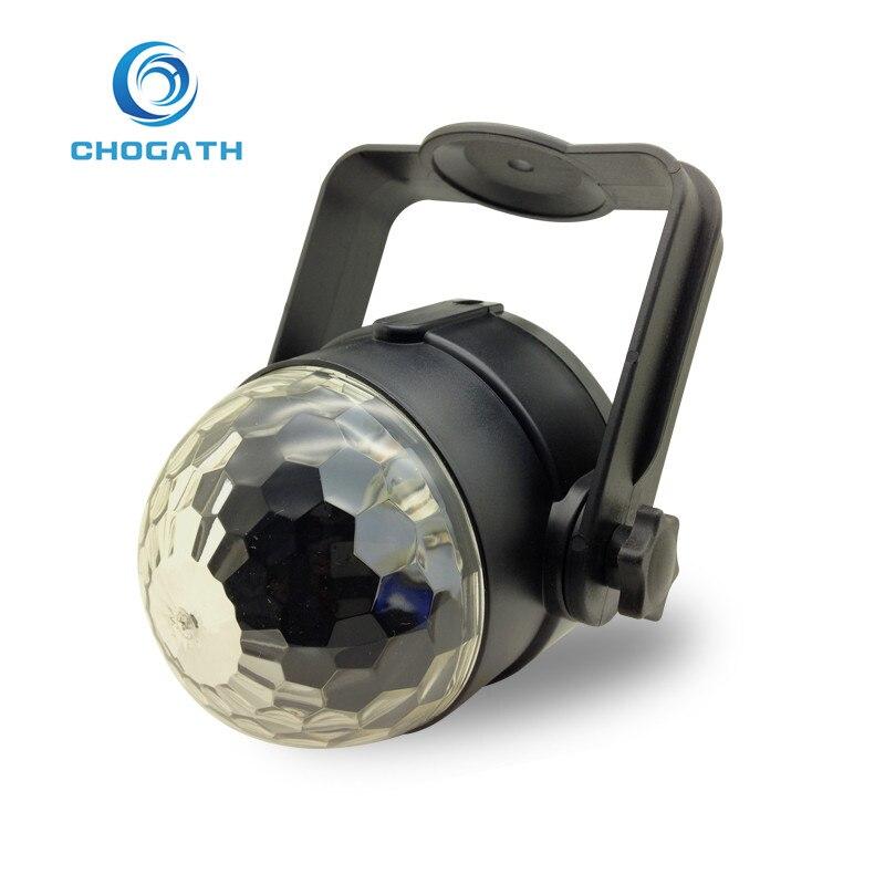 CHOGATH (TM) 6 W Carro Estilo Do Carro levou cristal de luz DJ luz Indução de instalar pelo Suporte usb linha música Rock cores cheias