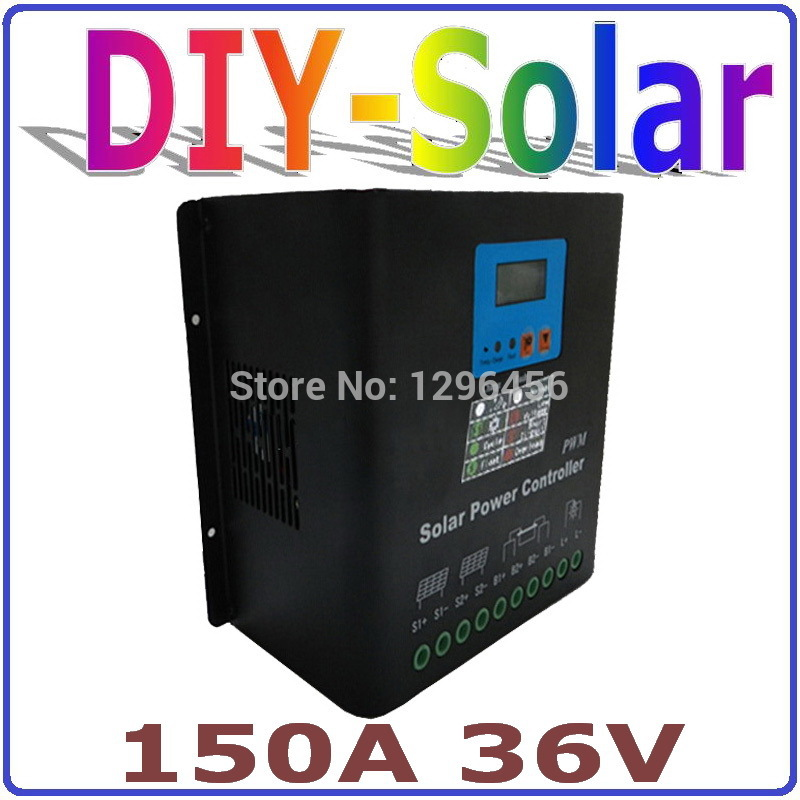 solar system 150A PV solar panel controller 36V Battery Charge Regulator CE RoHS 100% Quality Approved use for solar system snobi 2015 reloj relogio 0031