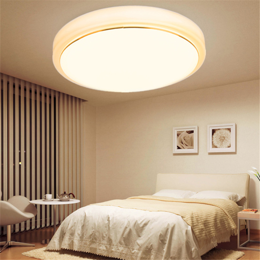 18W Round LED Ceiling Surface Mounted Light Kitchen Bathroom Lamp ...