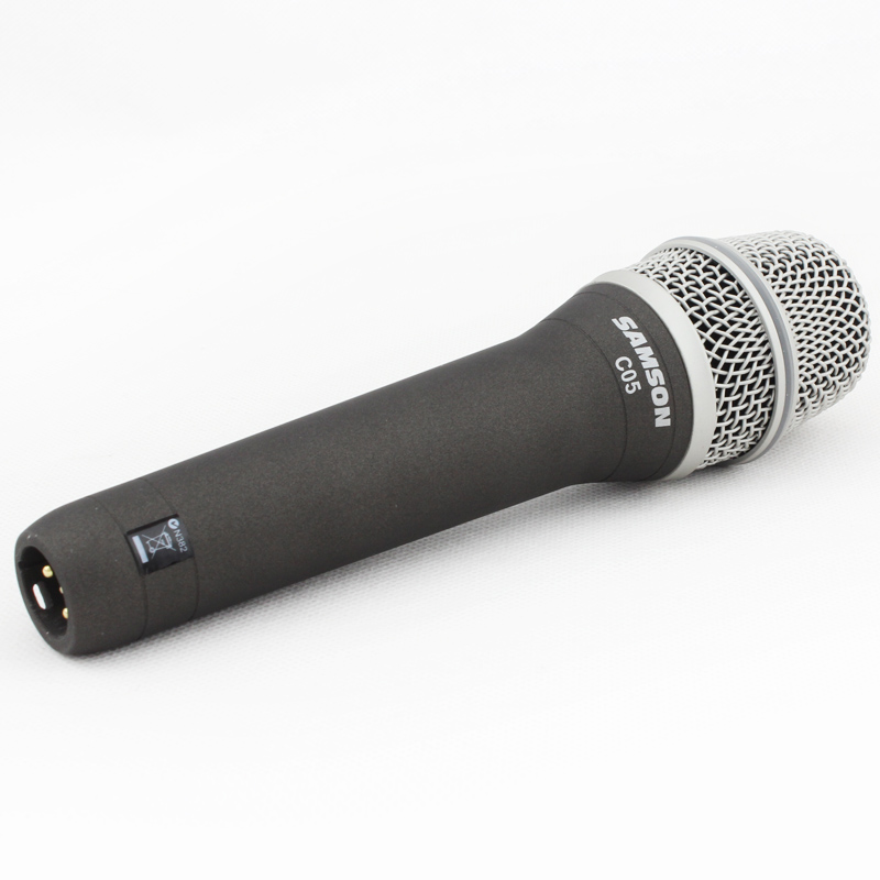 100 Original SAMSON C05 CL Handheld condenser microphone for recording and karaoke come with cable